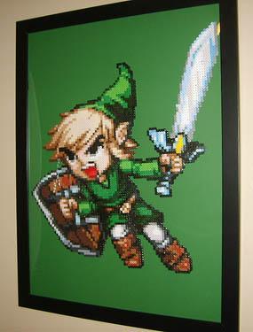 Link Zelda Perler Beads