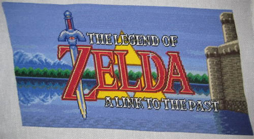 a link to the past title screen stitch