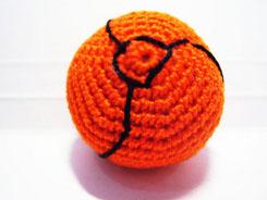 metroid ball amigurumi