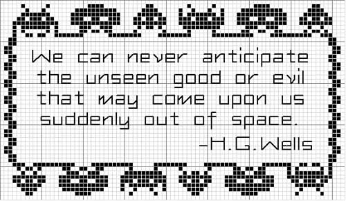 Space Invaders Sampler Pattern Small