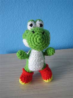 Free Crochet Pattern - Yoshi Amigurumi Yoshi has almost as loved ... | 327x245