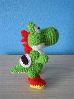 Crochet Yoshi : Yoshi Amigurumi Crochet 02
