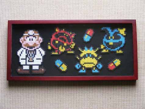Dr. Mario Perler Beads