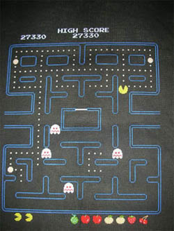 Pacman Cross Stitch Screenshot 01