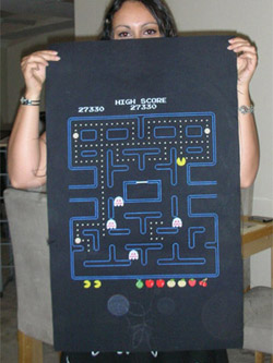 Pacman Cross Stitch Screenshot 02