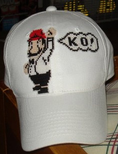 Cross Stitch Hat Mike Tyson