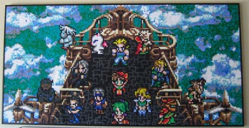 Final Fantasy VI Perler Beads