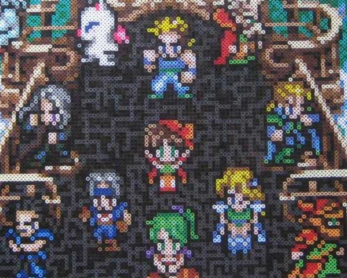 Final Fantasy VI Perler Beads 2