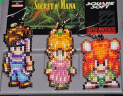 Beaded Earrings Secret of Mana