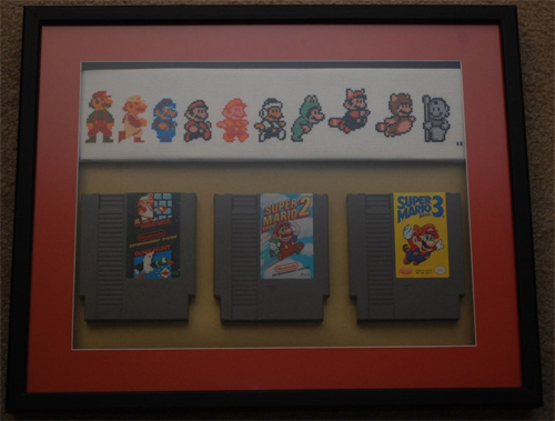 Mario Across The NES Ages With Games