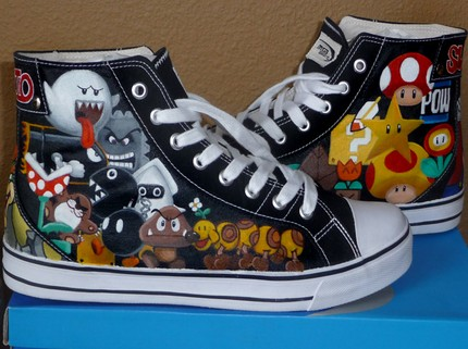 Mario Items Shoes