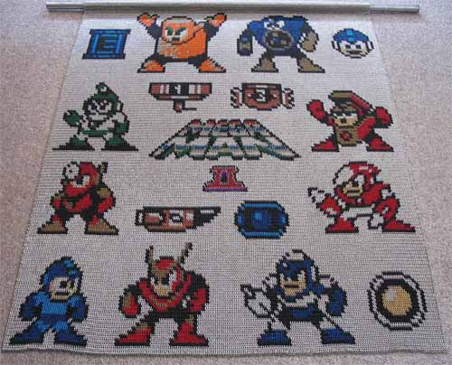 Megaman 2 Chainmail Inlay 01