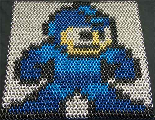 Megaman 2 Chainmail Inlay 03