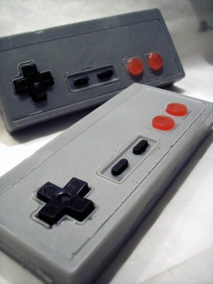 NES Controller Soaps