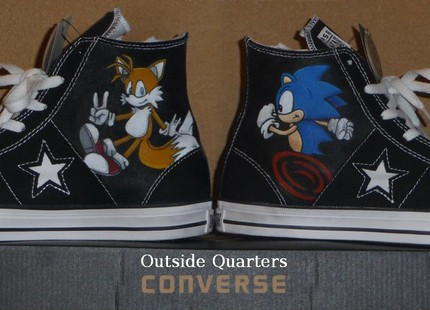Sonic And Tails Shoes