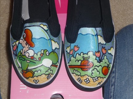 Yoshis Island Shoes