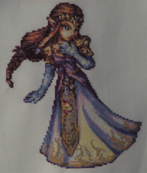 Zelda SSBB Cross Stitch