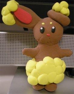 Buneary Clay Pokemon