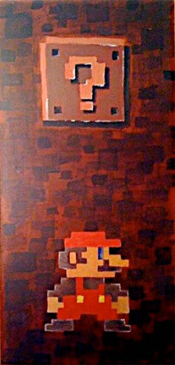 Large Mario Painting