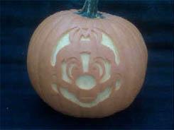 Mario Pumpkin 01