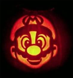 Mario Pumpkin 02