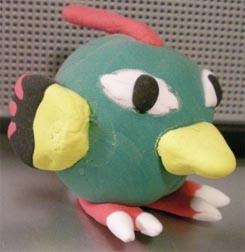 Natu Clay Pokemon