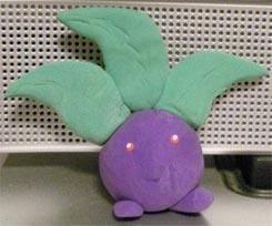 Oddish Clay Pokemon