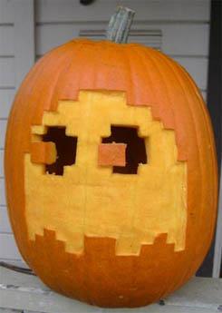 Pacman Pumpkin 01