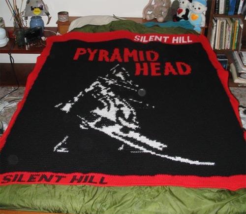 Pyramid Head Blanket Silent Hill