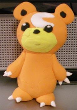 Teddiursa Clay Pokemon