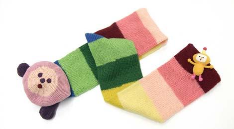 Katamari first prize scarf