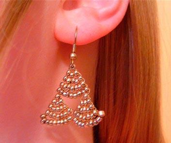 Triforce Earrings