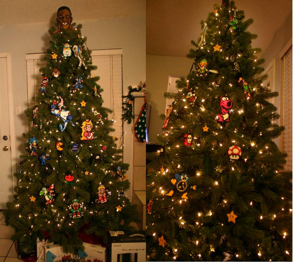 8-Bit Christmas Tree | Sprite Stitch