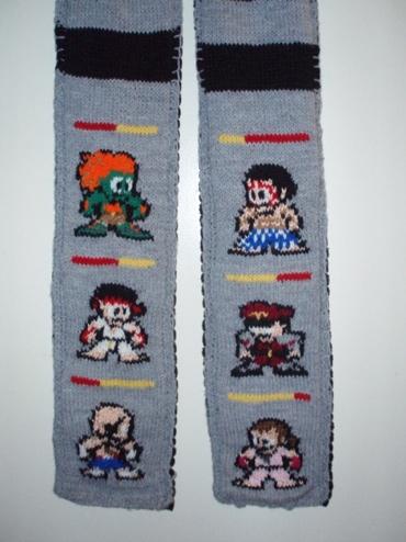 Street Fighter Scarf