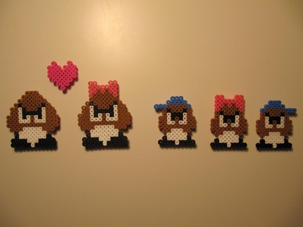 Goomba Love Magnets 01