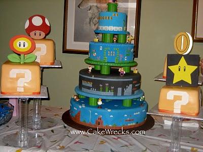 Geek Wedding Cake Designs