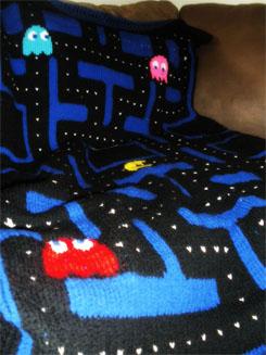 Pacman Blanket 01