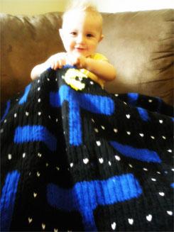 Pacman Blanket 02