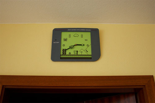 Gameboy Mario Clock
