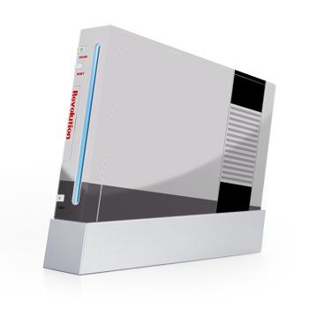 Retro Wii SKin NES