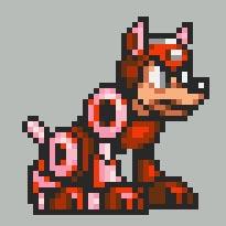 Megaman Rush Sprite