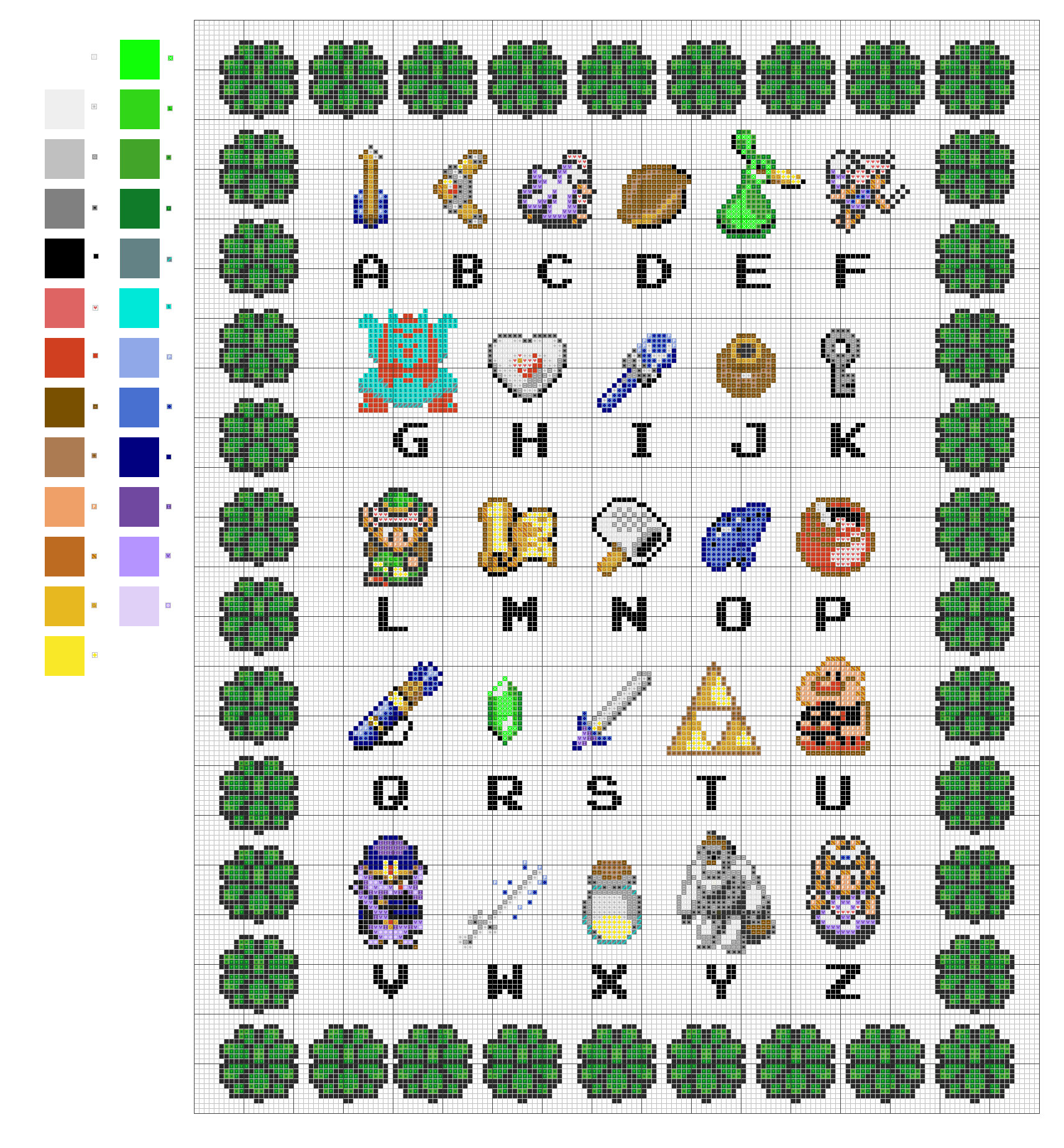 Z_is_for_Zelda_Pattern