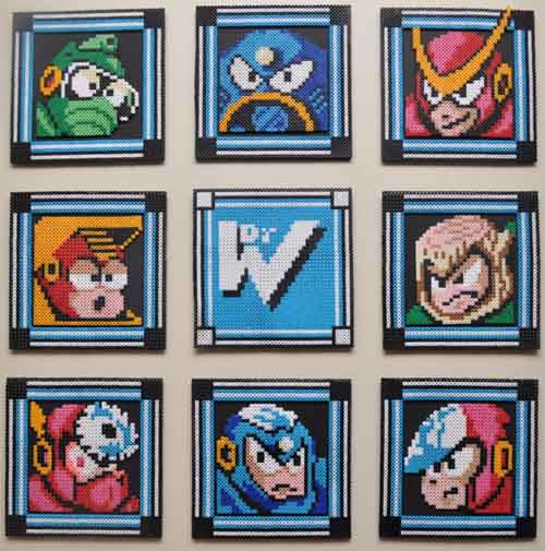 megaman 2 boss selection screen