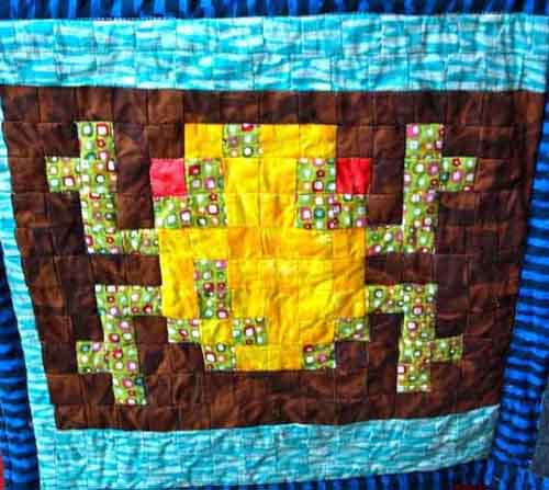 froger crib quilt