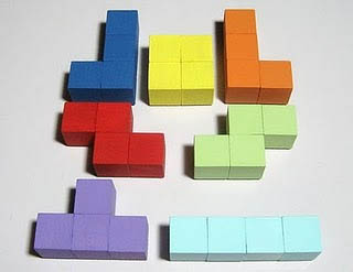 simple tetris magnets