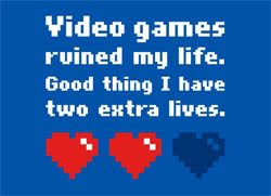 video games ruined my life shirt zelda link