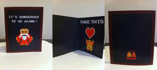 Legend Of Zelda Valentineu0027s Day Card