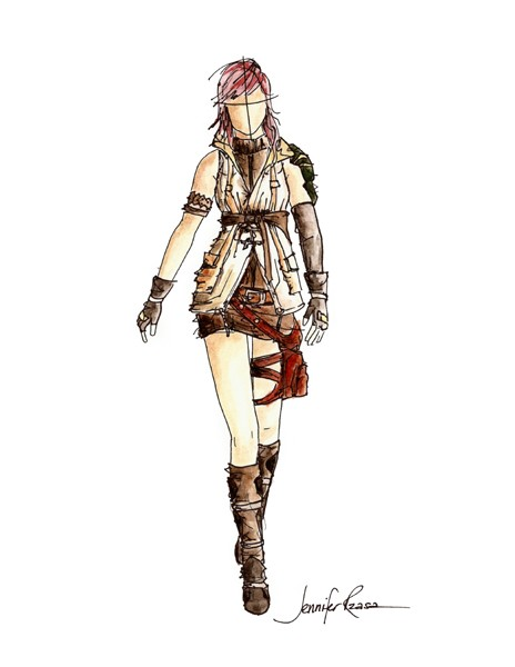 Fashion Fantasy Game - Choose a Player Type