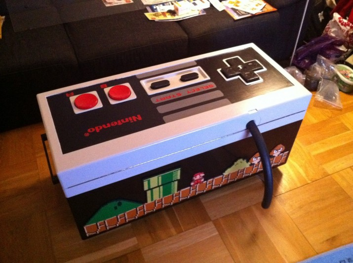 Playable Nes Controller Coffee Table Sprite Stitch