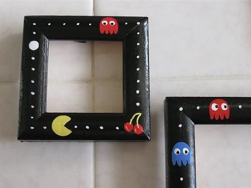 Pacman Painted Frames | Sprite Stitch